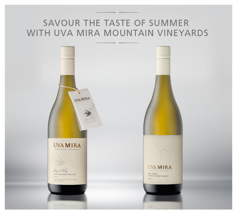 Savour the Taste of Summer with Uva Mira Mountain Vineyards Sauvignon Blanc photo