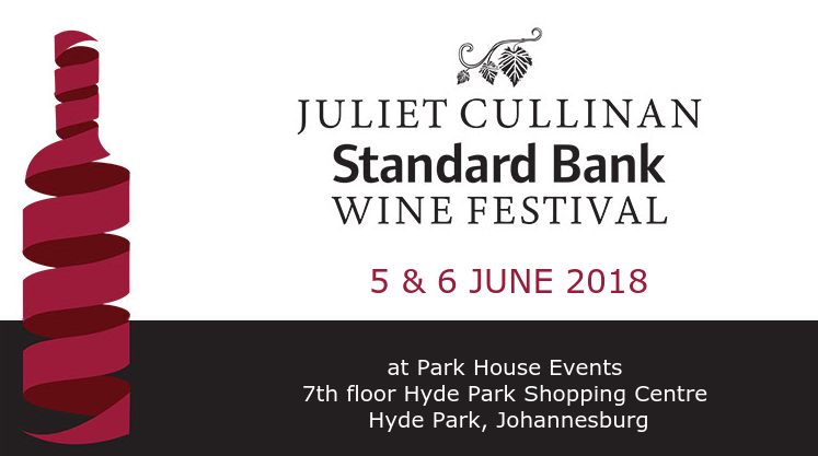 It's time to toast the  28th Juliet Cullinan Standard Bank Wine Festival photo