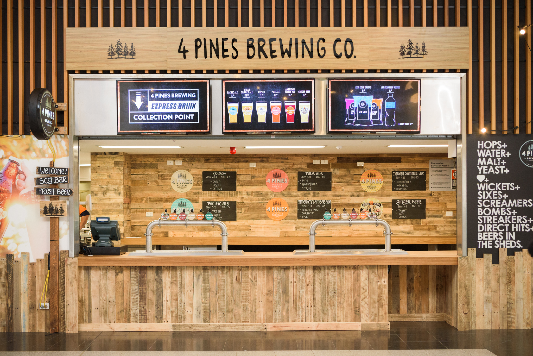4 Pines Bar Opens At Scg photo