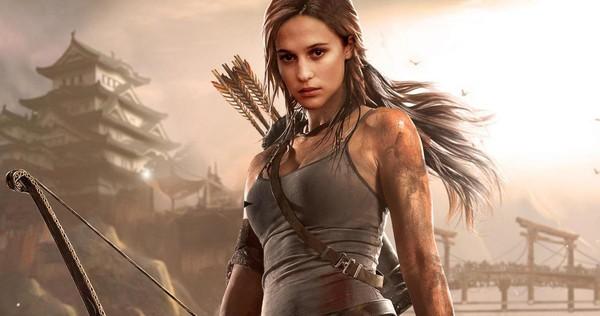 Cork Makes Light Work for Lara Croft Tomb Raider photo