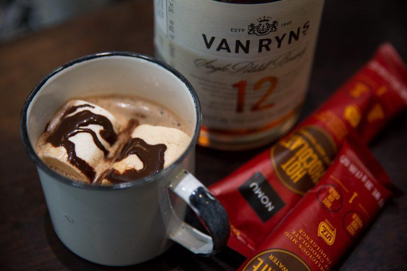 Own winter with Van Ryn's brandy and NOMU hot chocolate photo