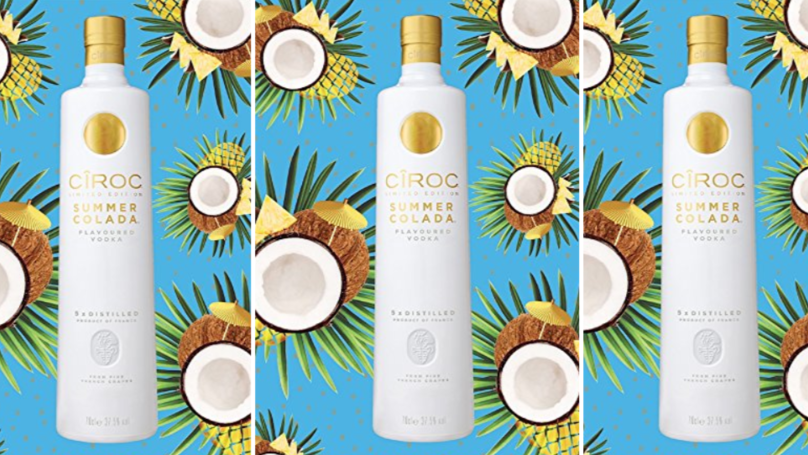 This Cîroc Summer Colada Vodka Will Transport You To An Ibiza Pool Party photo