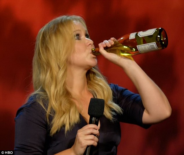 Amy Schumer's Honeymoon Was Filled With Pasta and Wine photo