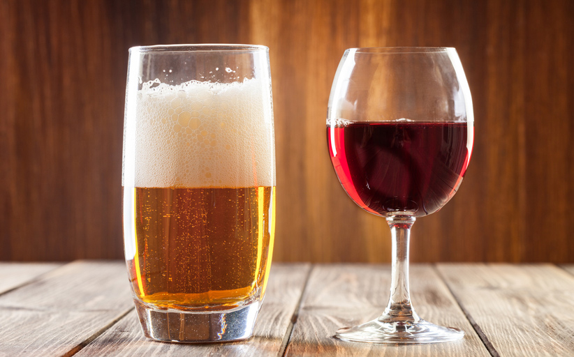 A Beer Lover`s Guide To Drinking Wine photo