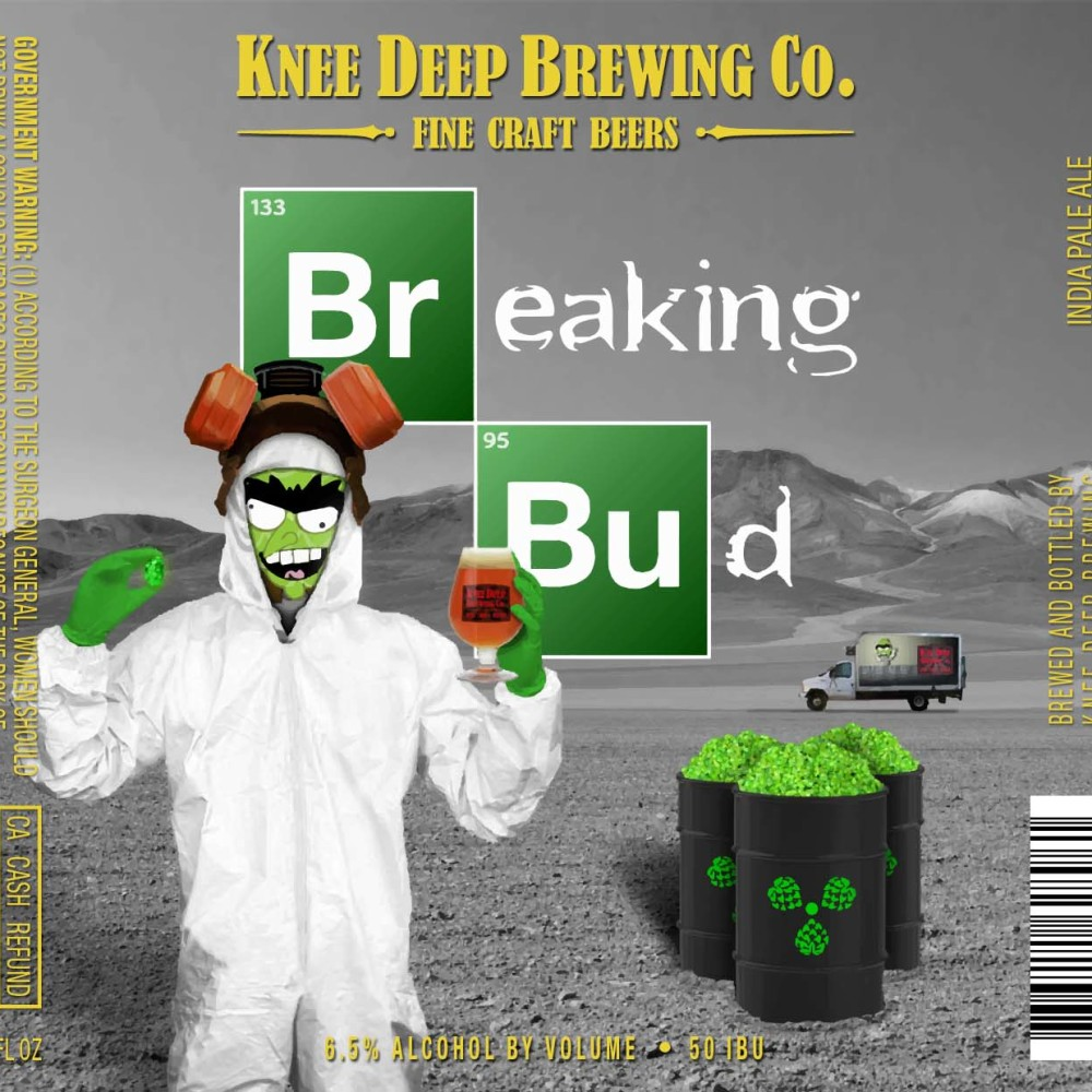 Craft brewery gets sued by Sony for Breaking Bad Beer photo