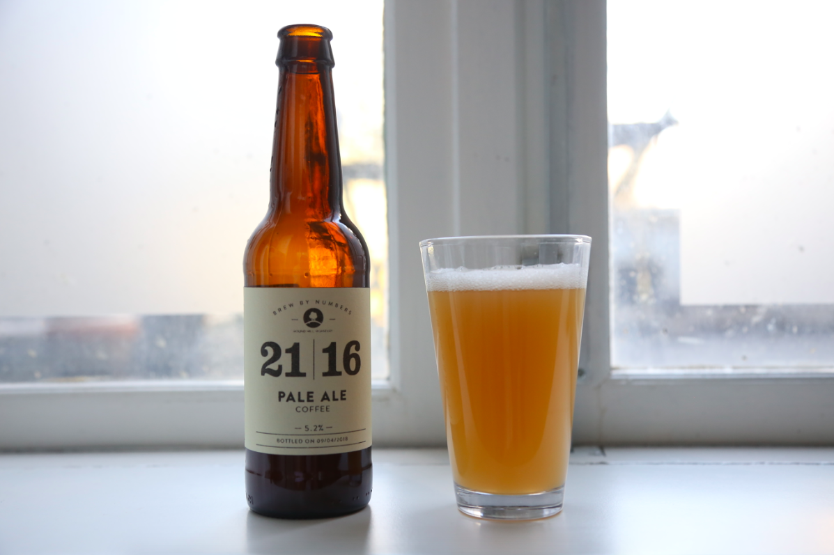 Coffee Beer: Brew By Numbers X Roundhill Roastery's Coffee Pale Ale photo