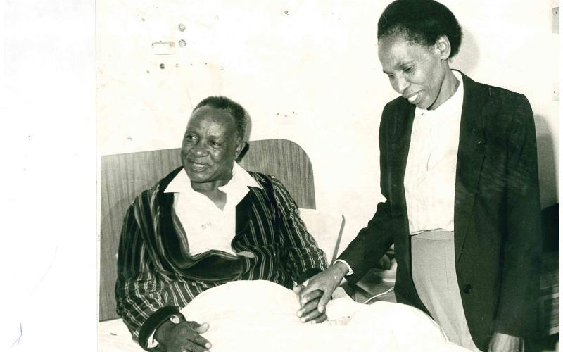 Kenneth Matiba Kept Off Alcohol To Marry Edith photo