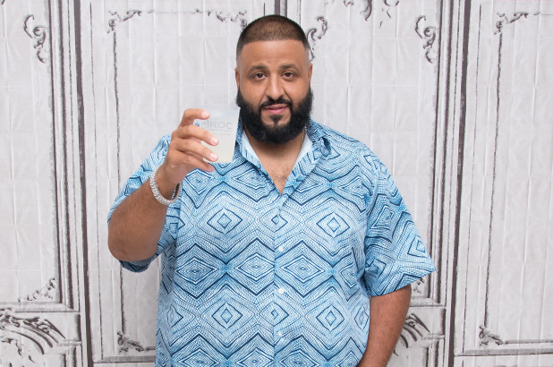 DJ Khaled under fire for pouring vodka over breakfast cereal photo