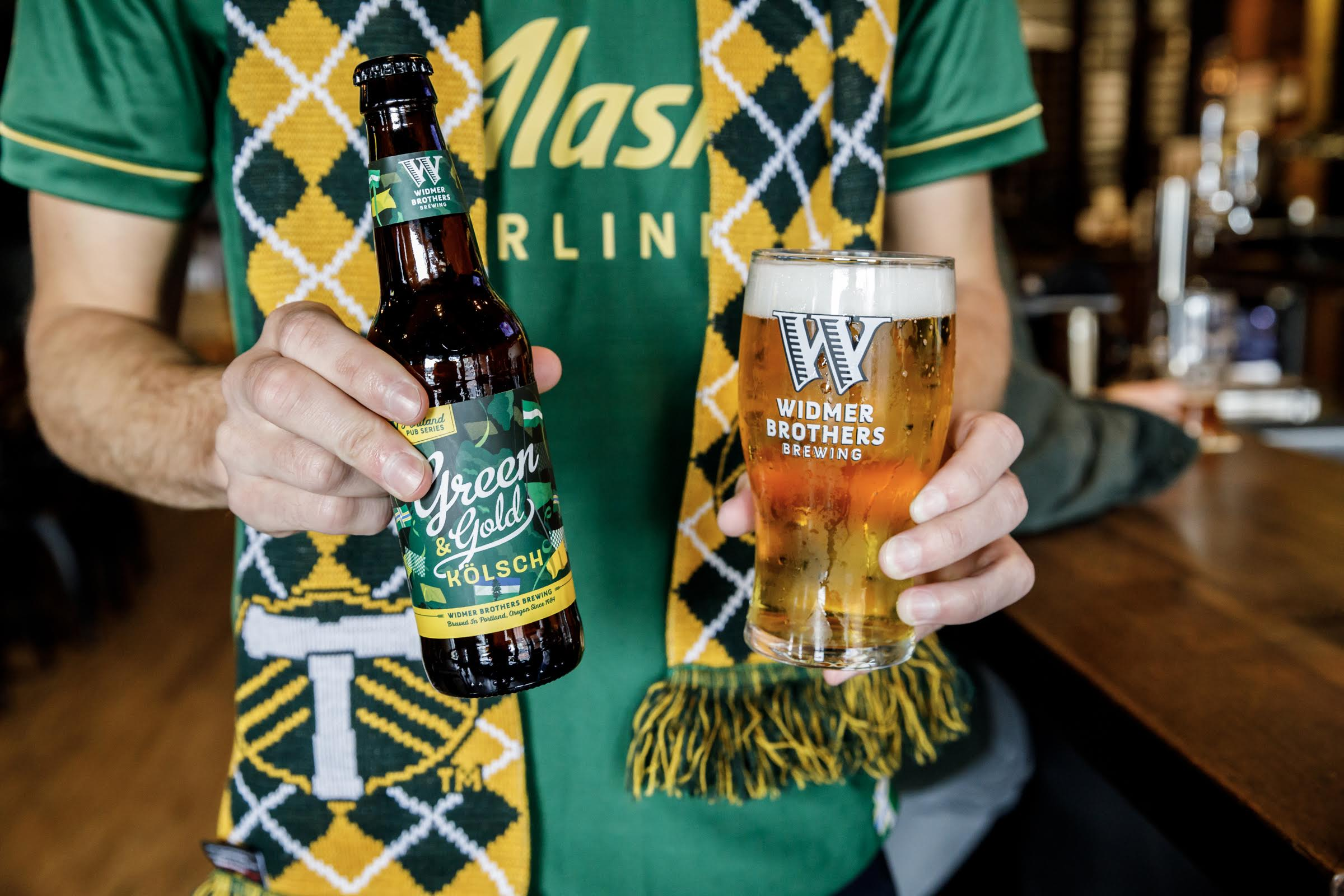 Craft Brew Alliance's Widmer Brothers Brewing Releases Green & Gold Kölsch photo
