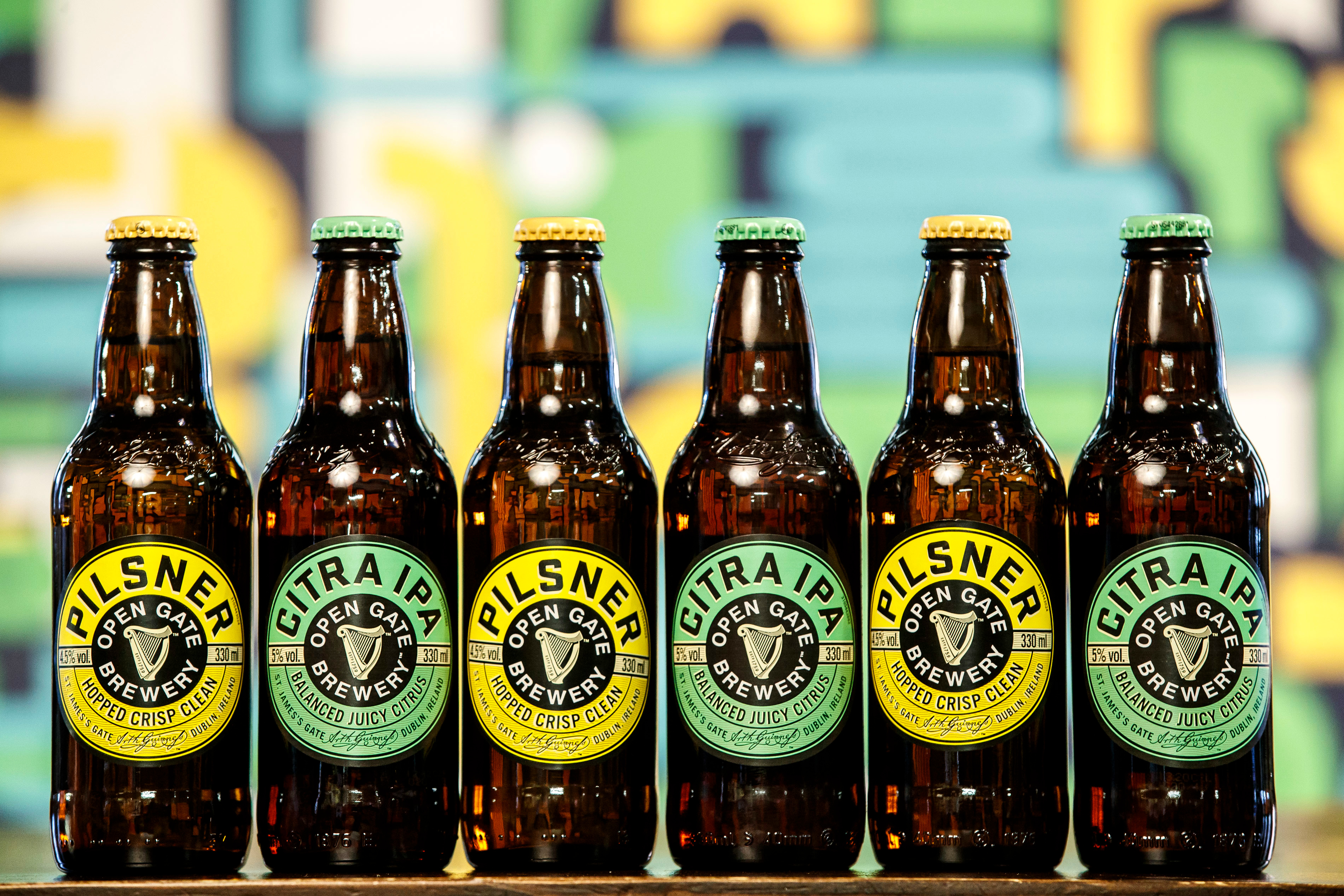 Guinness Launches Open Gate Brewery Beers photo
