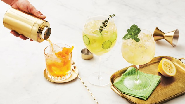 5 Herbaceous Gin Cocktails For Spring photo