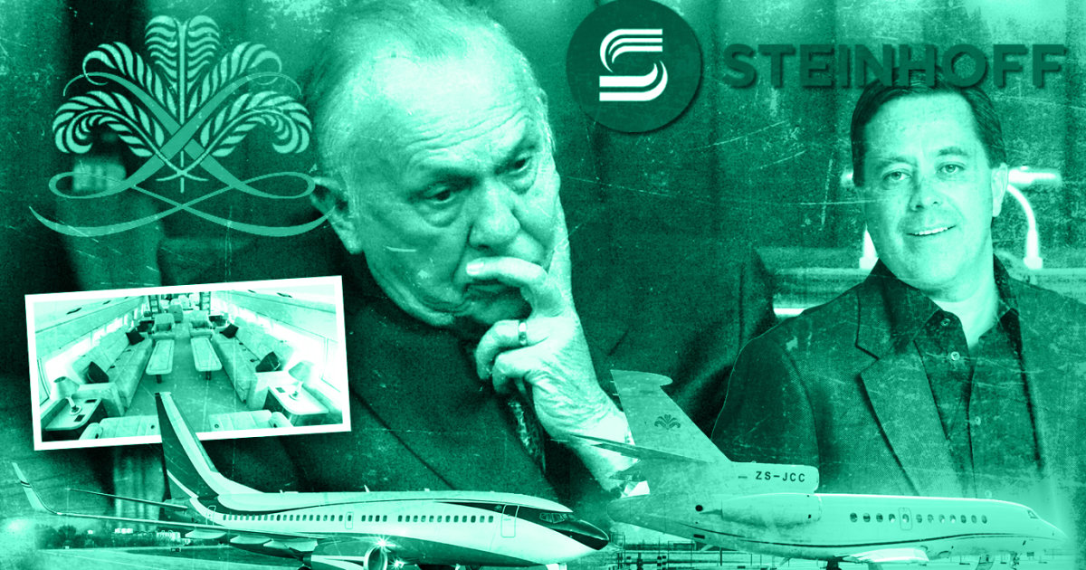 Steinhoff: Christo Wiese Flogging Two Luxury Private Jets photo