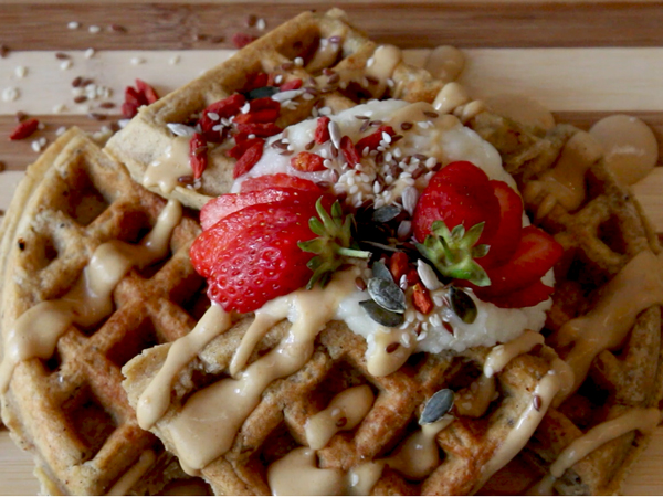 Watch: Mouthwatering Guilt-free Waffles At Jessy?s Waffles In Gardens photo
