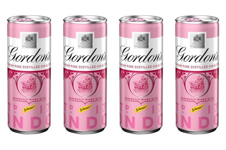 Gordon's Launches Must-have Pink Summer Tipple In A Can For Just £1.80 photo