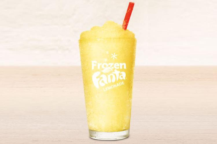 Burger King Is Now Selling Frozen Fanta Lemonade… But There's A Catch photo