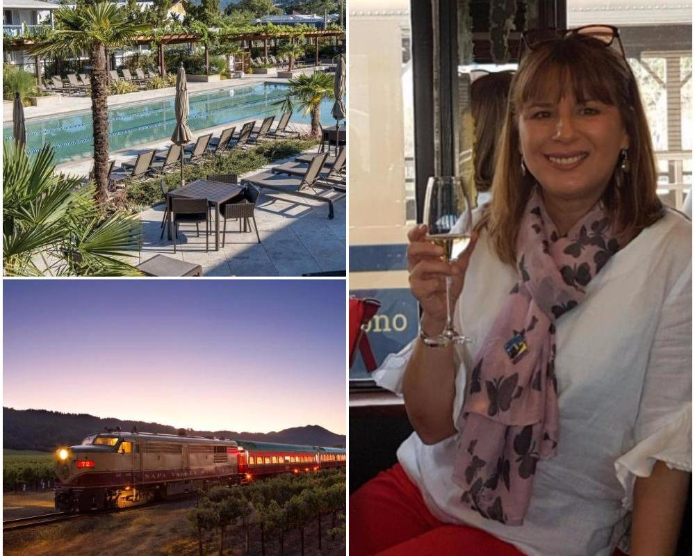 All Aboard The Napa Valley Wine Train For A Vine Romance photo