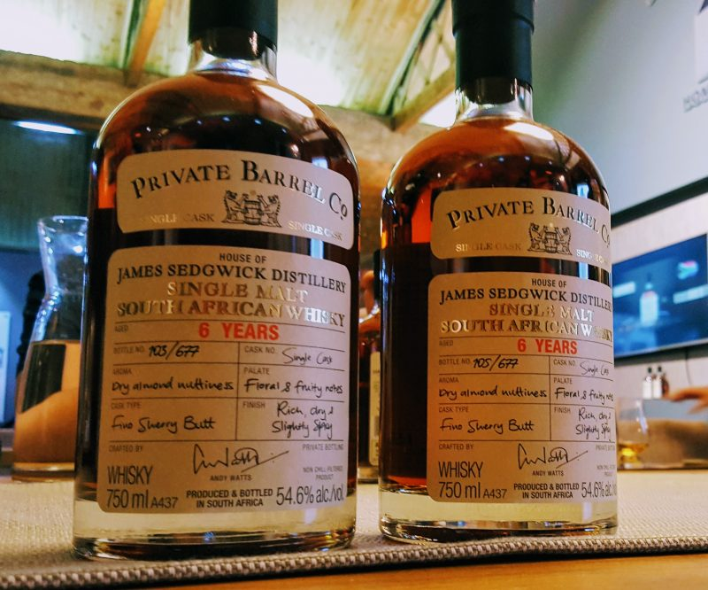 private barrel checkers e1524484806240 Private Barrel Co. adds first South African Whisky to its exclusive range