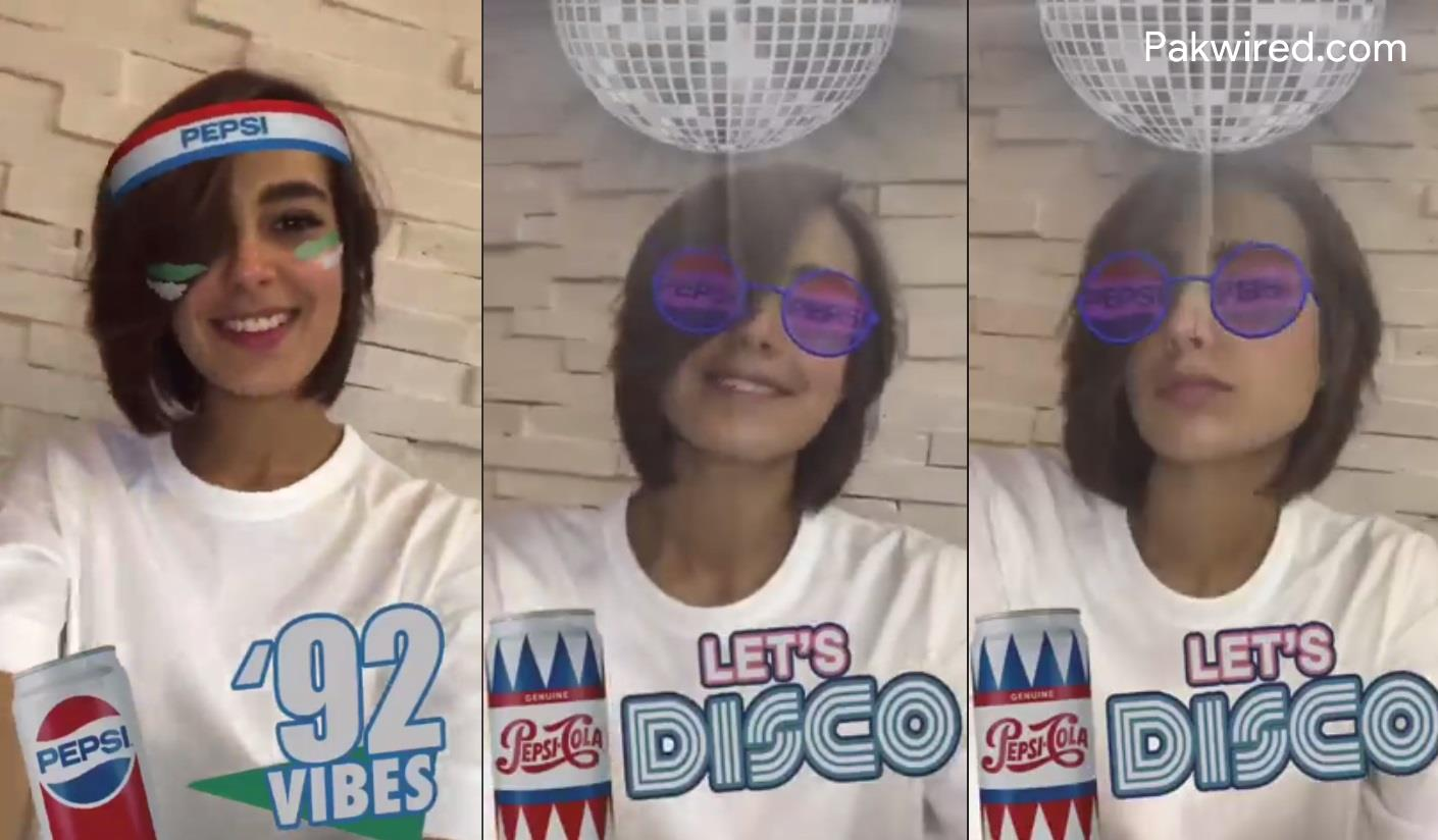 Pepsi Pakistan Leads The Facebook Ar Filter Revolution! photo