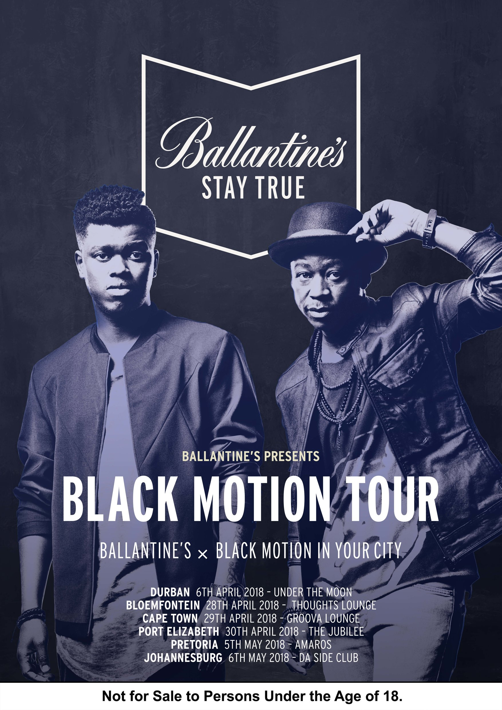 Ballantine's Scotch Whisky And Black Motion Are Set To Rock Durban Today photo