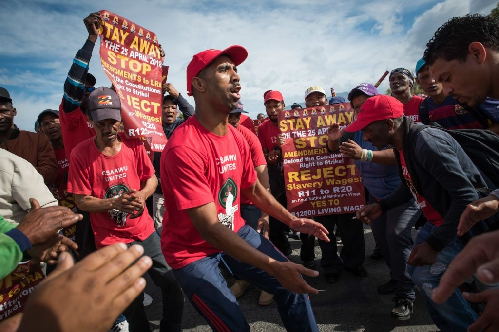 Rural Workers Mobilized En Masse In South African General Strike photo