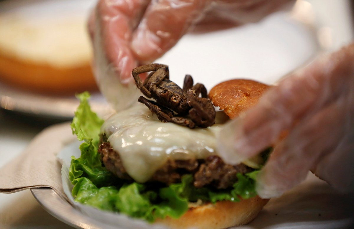 You Want Tarantula With That? At Us Burger Joint, It's An Option, photo