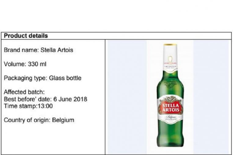 Batch Of Stella Artois Beer Recalled, May Contain Glass Fragments, Singapore News & Top Stories photo