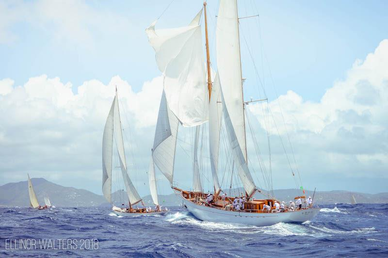 Antigua Classic Yacht Regatta: Wild And Woolly Weather For Race 1 photo