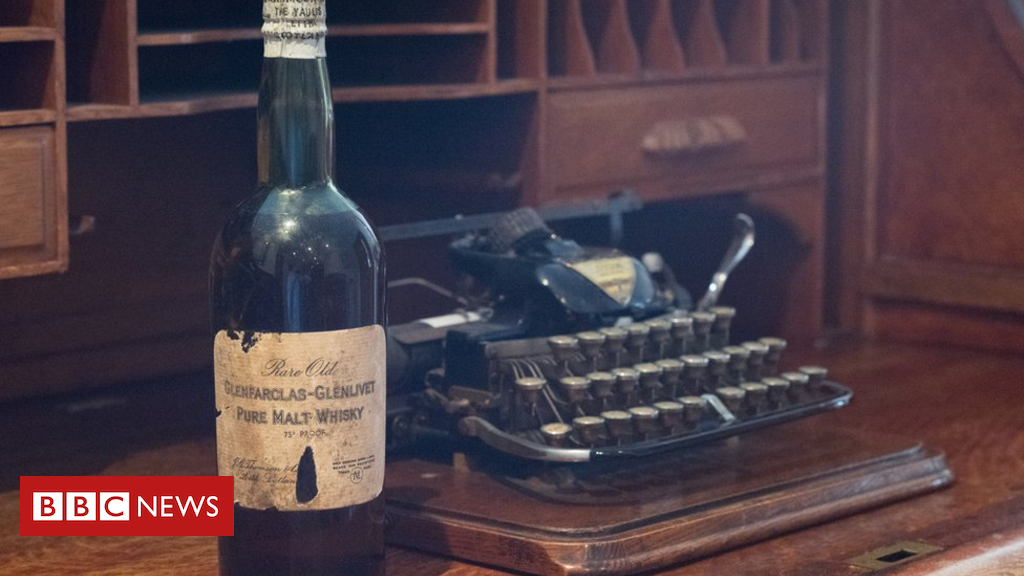 100-year-old Whisky Found In Cupboard photo