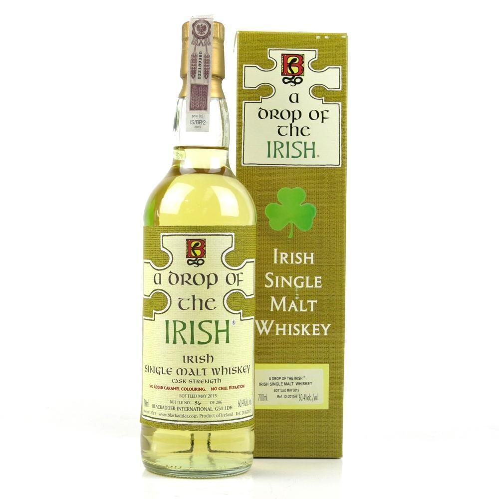 Blackadder ?a Drop Of The Irish? Single Malt Irish Whiskey photo
