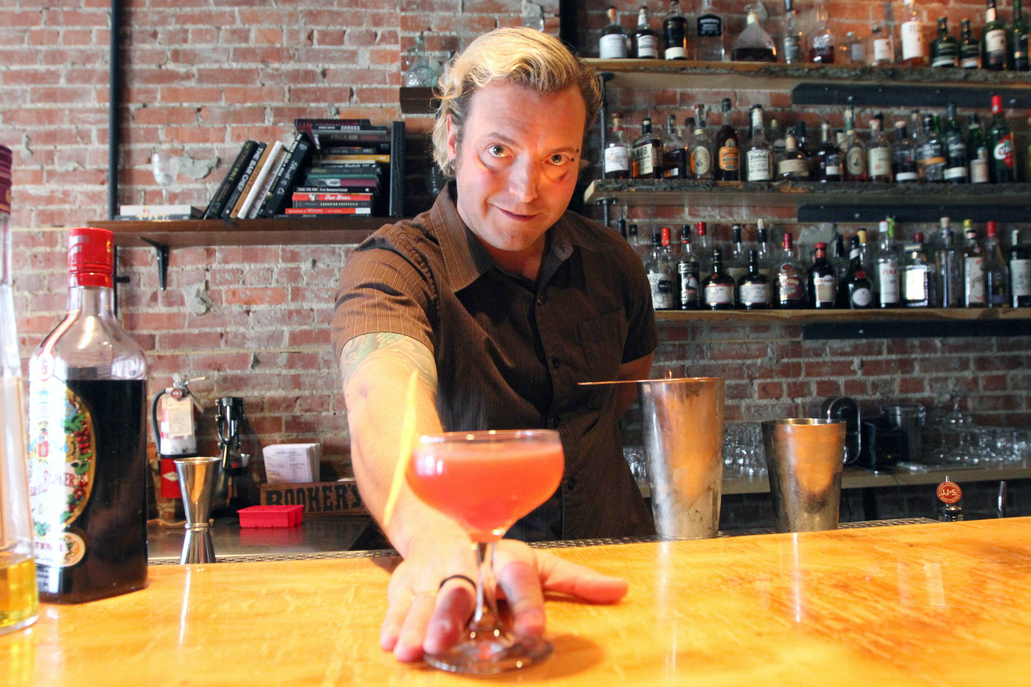 Watch: Red Deer Cocktail Lounge Making Drinks For Women Of Excellence photo