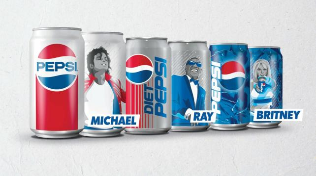 Pepsi Cans Attempt To Reclaim Pop Culture Glory photo