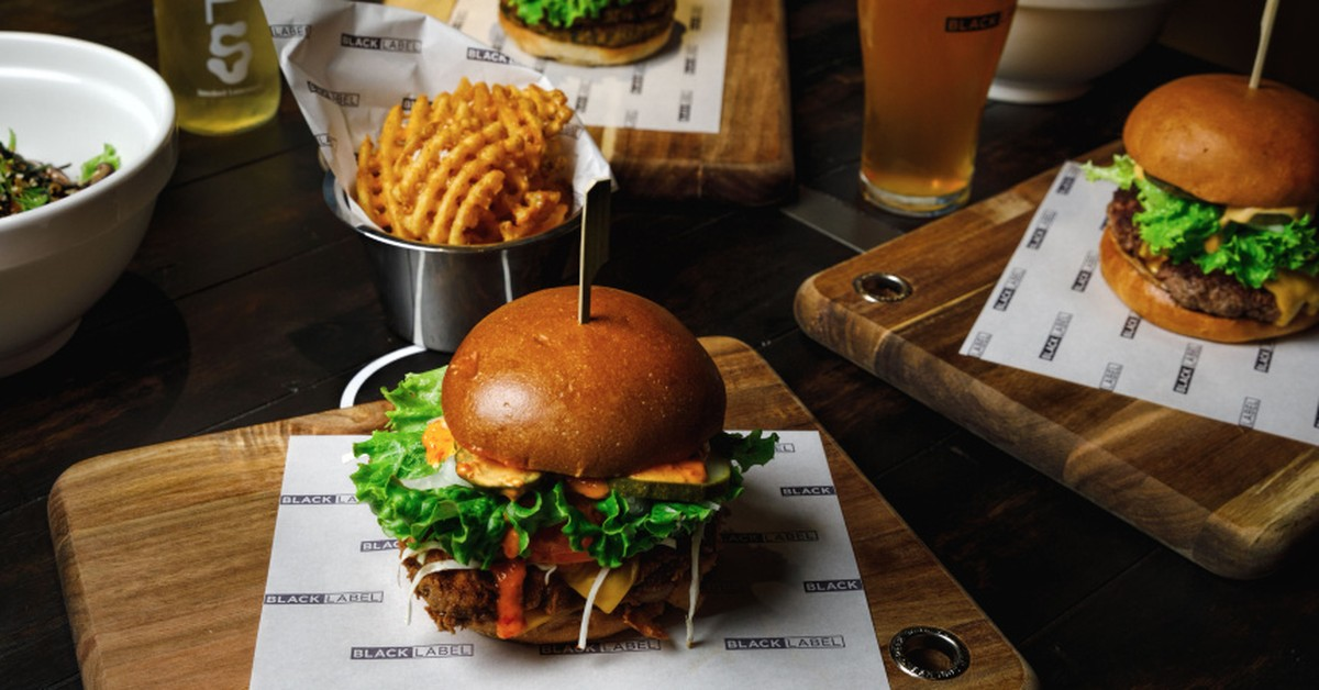 "Now Open: Rockpool Group Unveils Its First ""black Label"" Burger Bar photo"