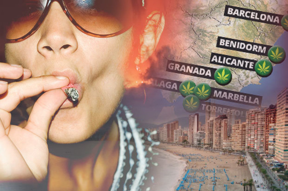 Costa Del Spliff Mapped: Brits In Spain Will Be Able To Smoke Cannabis At These Resorts photo