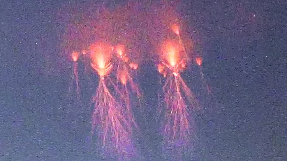 Storm Chaser Gets Surreal Photo Of Jellyfish-like Lightning Sprite Over Oklahoma photo