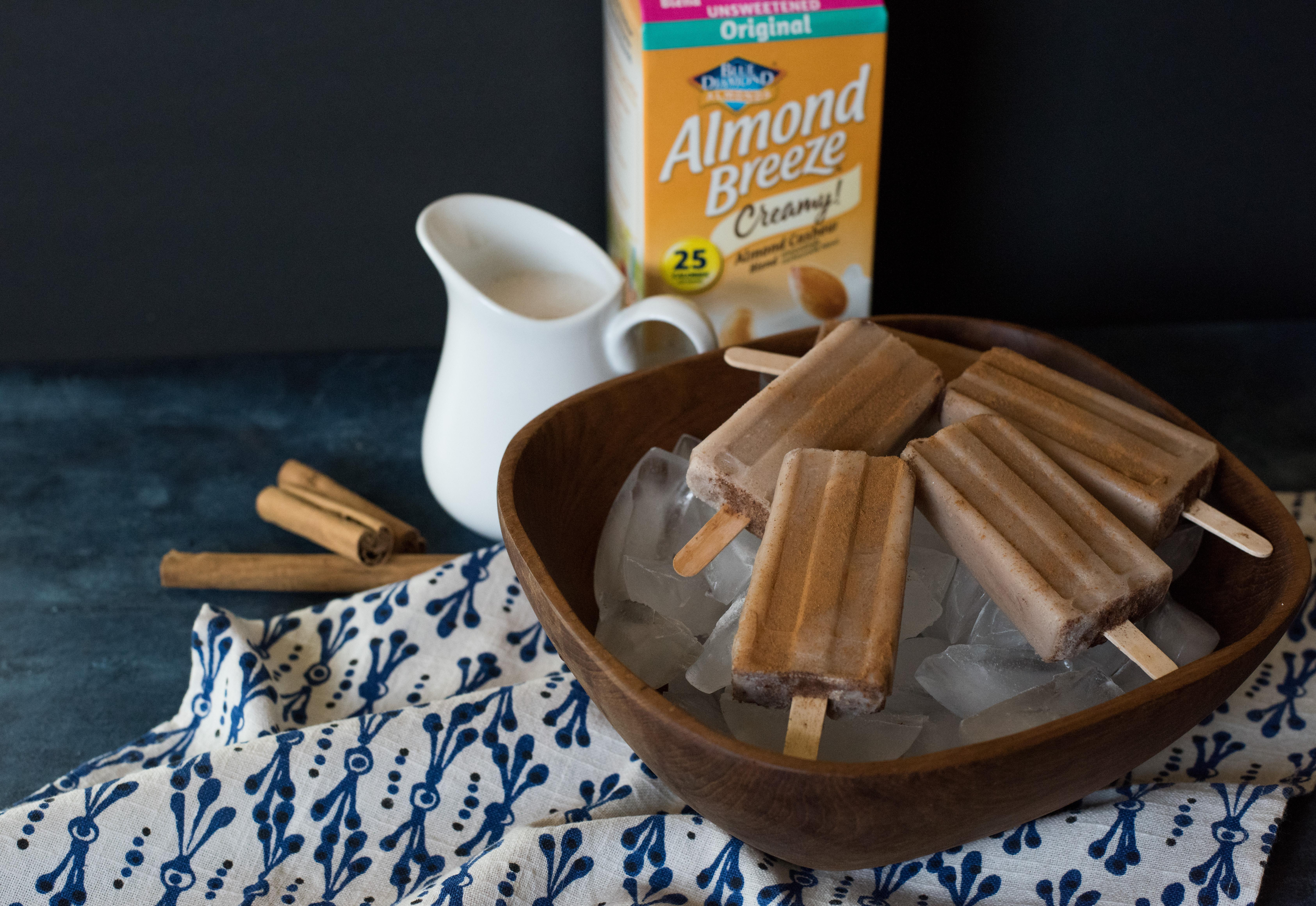 Blue Diamond Almond Breeze Horchata Paletas photo