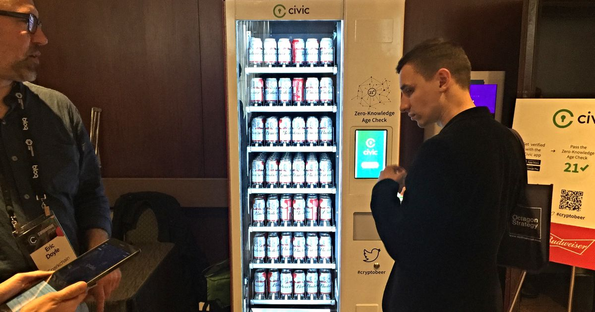 Let The Blockchain Get You Buck Wild Drunk With This Cryptobeer Vending Machine photo
