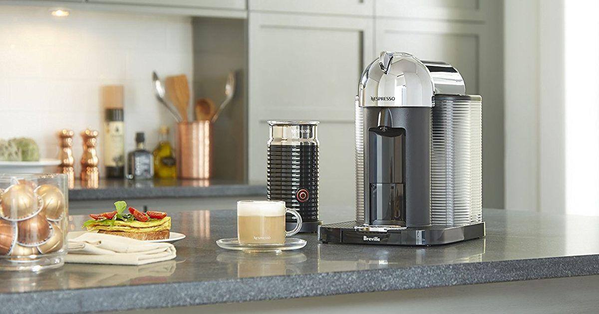 Save $80 On A Nespresso Coffee Maker And Skip The Starbucks Line photo