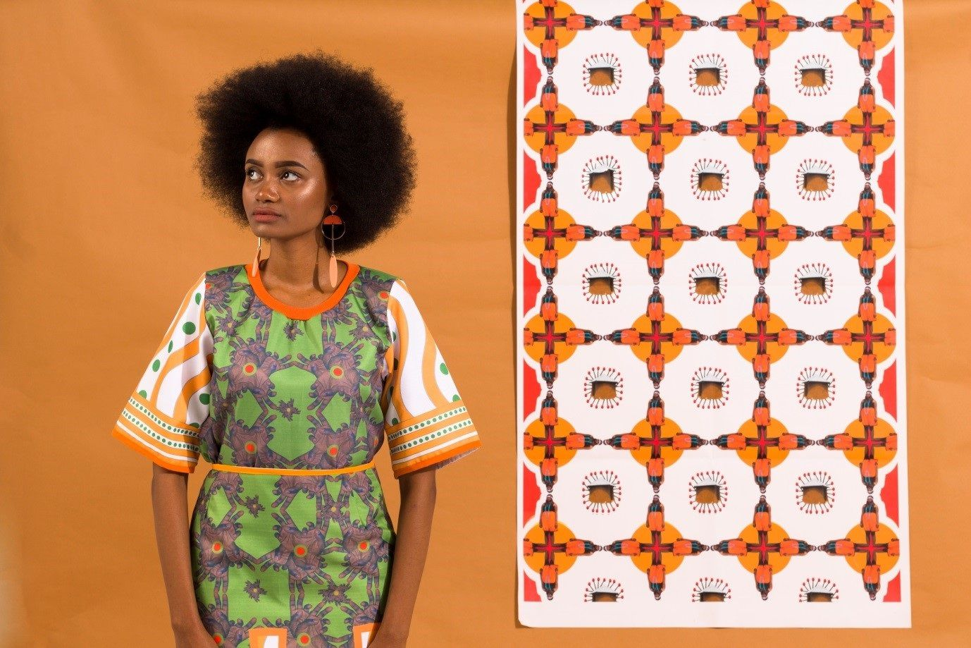 #africamonth: The Authentic Design Stories Of Thandazani Nofingxana photo