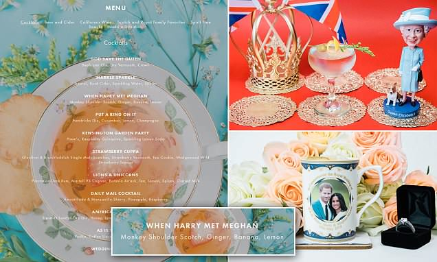Dc Royal Wedding Pop-up Bar Under Fire For 'racist' Cocktails photo