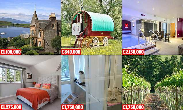 Fancy Escaping The Rat Race? Try One Of These Homes With A Business photo