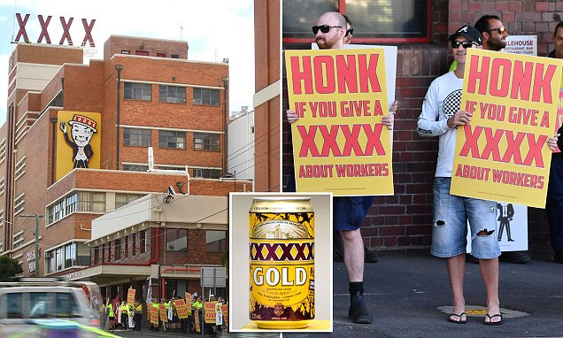 Queensland Call For Boycott Of Xxxx Gold Cans Made In Nsw photo