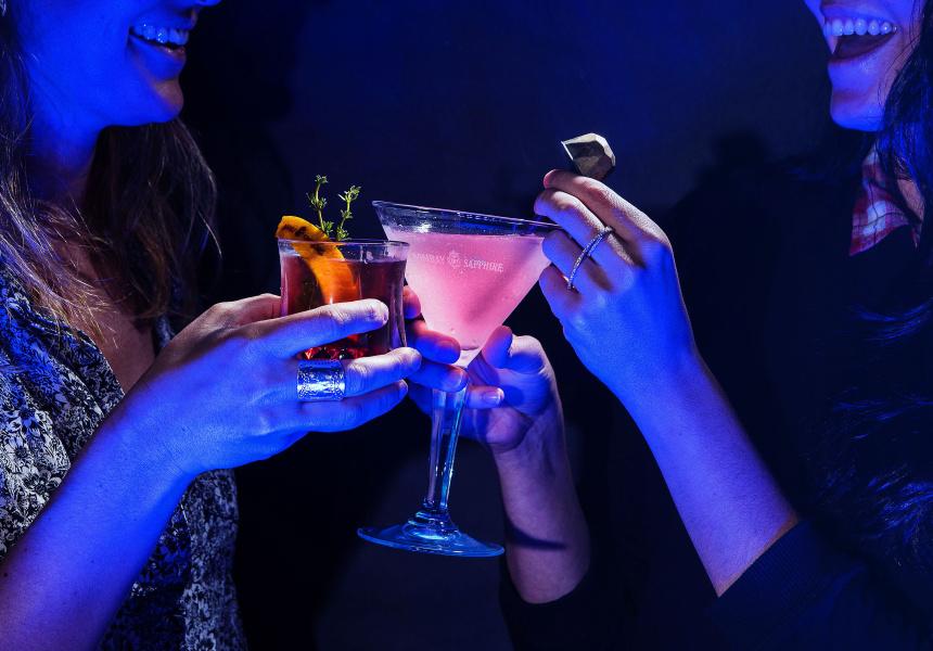 Bombay Sapphire X Mca Pop-up Bar photo