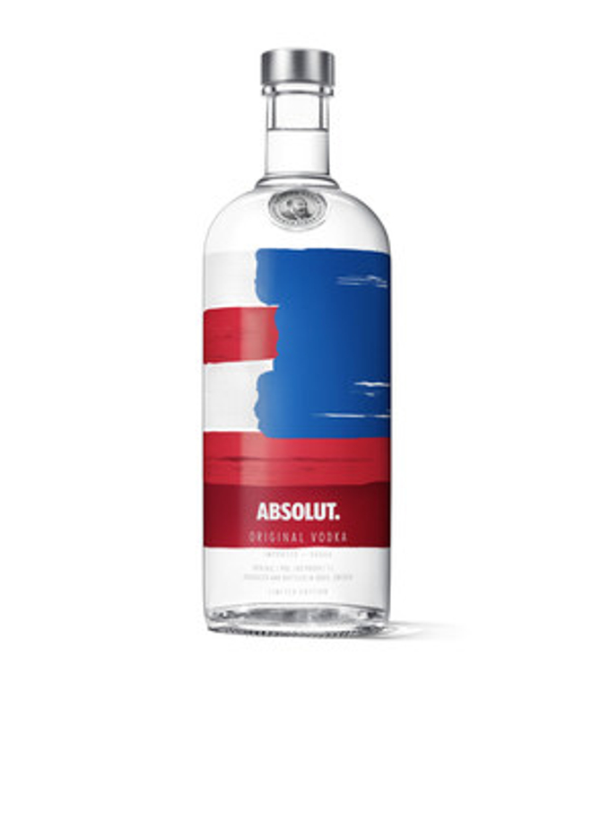 Absolut' Goes Red, White & Blue To Celebrate The Summer With New Limited Edition Absolut' America Bottle photo