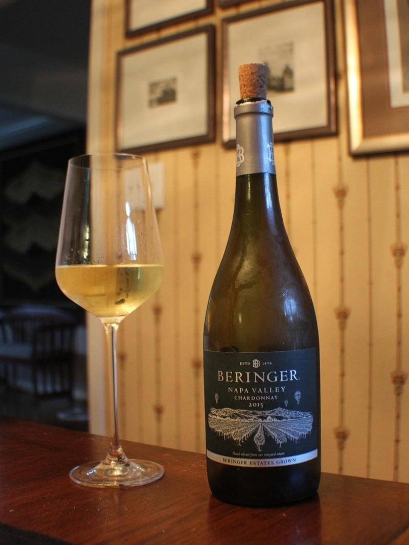 Wine Time: Beringer Chardonnay 2015, Napa Valley photo