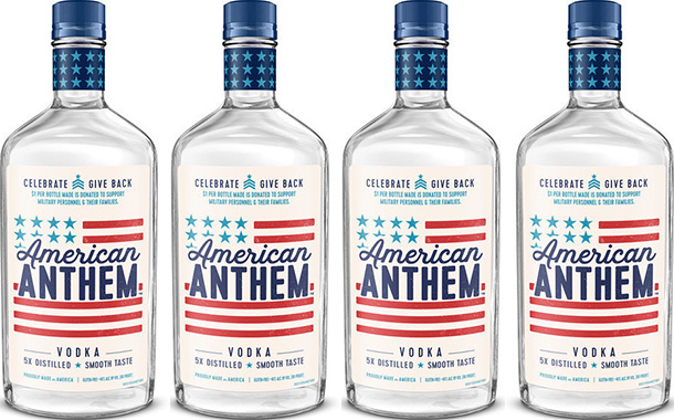 Diageo Supports Us Military With New American Anthem Vodka photo