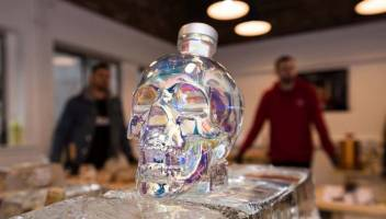 College Of North Atlantic Students Asked To Brainstorm Solutions To Label Crystal Head Vodka Bottles photo