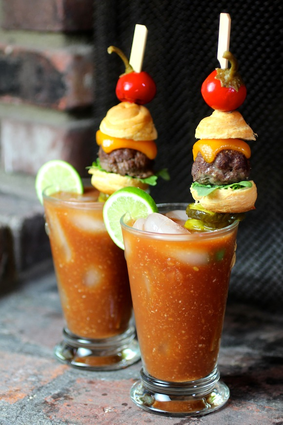 Sink your teeth into these burger flavoured cocktails
