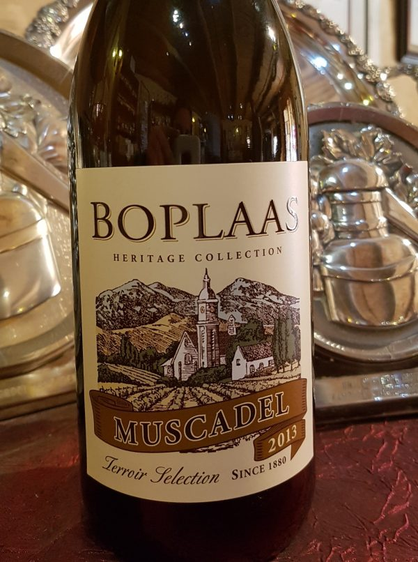 Gold for Boplaas Heritage White Muscadel 2013 photo
