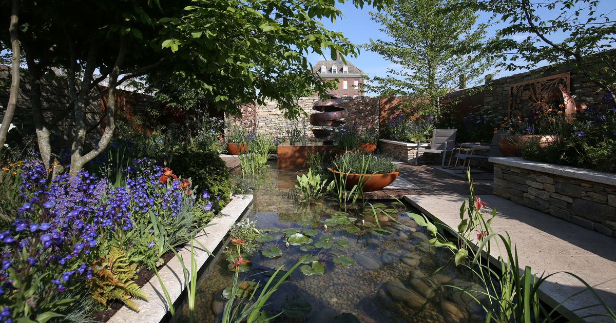 See Chelsea Flower Show Garden Inspired By Silent Pool Gin photo