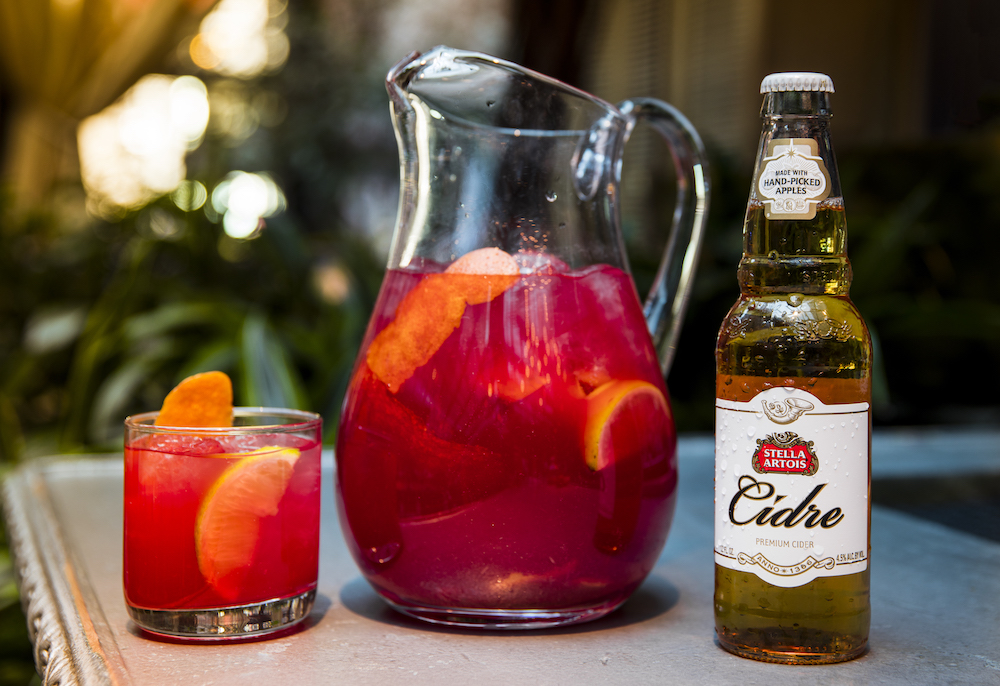 Smooth Sips! Stella Artois Cidre Margarita photo